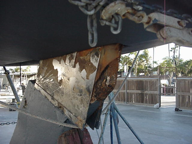 pic of rusty keel